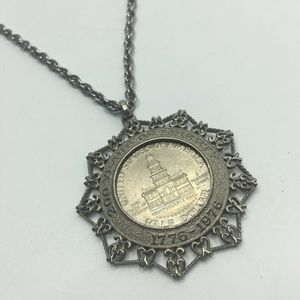 1976 Bicentennial Half Dollar Necklace